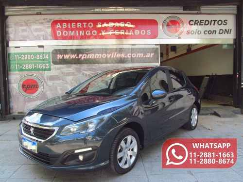 Peugeot 308 1.6 Allure 115cv 2016 Rpm Moviles