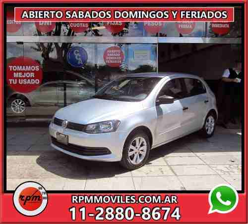 Volkswagen Gol Trend Pack Iii I-motion 5p  2013 Rpm Moviles