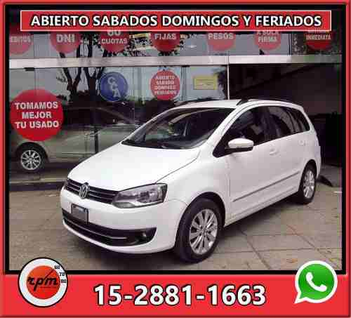 Volkswagen Suran 1.6 Highline Imotion 2012 Rpm Moviles