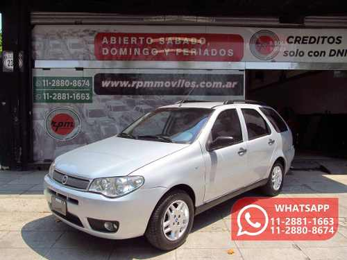 Fiat Palio 1.4 Weekend Elx Fire 2007 Rpm Moviles