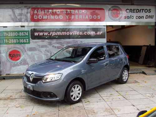 Renault Sandero 1.6 Expression 2015 Rpm Moviles