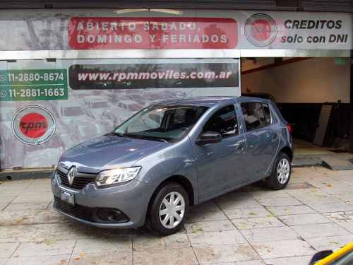 Renault Sandero 1.6 Expression Abs 2015 Rpm Moviles