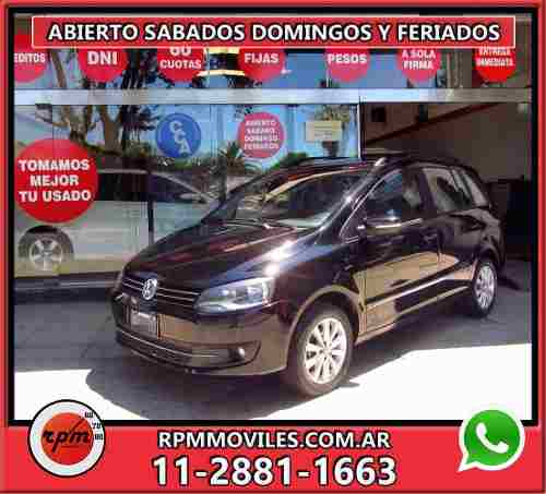 Volkswagen Suran 1.6 Highline Imotion 2011 Rpm Moviles