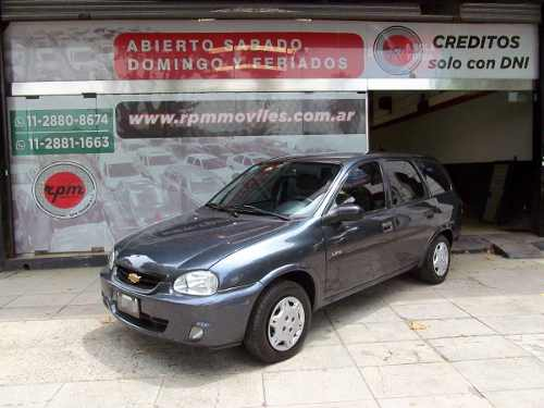 Chevrolet Corsa Wagon 1.4 Sw Life 2009 Rpm Moviles