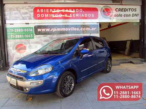 Fiat Punto 1.6 Sporting 2016 Rpm Moviles