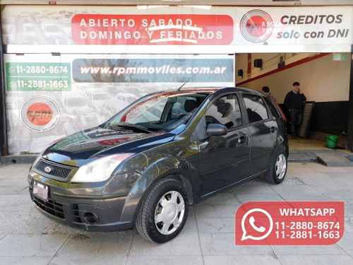 Ford Fiesta Ambiente Plus 1.6  2009 Rpm Moviles