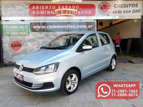 Volkswagen Fox 1.6 Comfortline Saf Rpm Moviles 2015