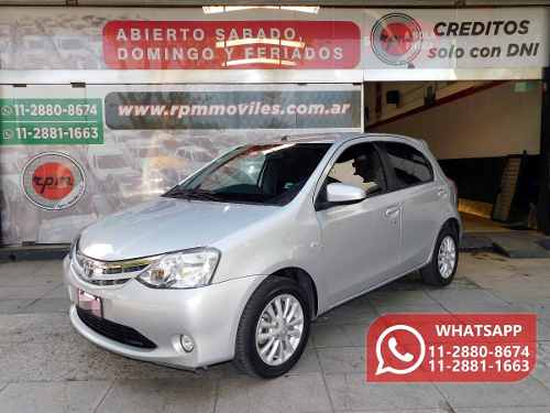 Toyota Etios 1.5 Sedan Xls 2014 Rpm Moviles