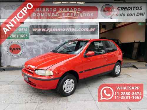 Fiat Palio 1.6 1998 Rpm Moviles Anticipo