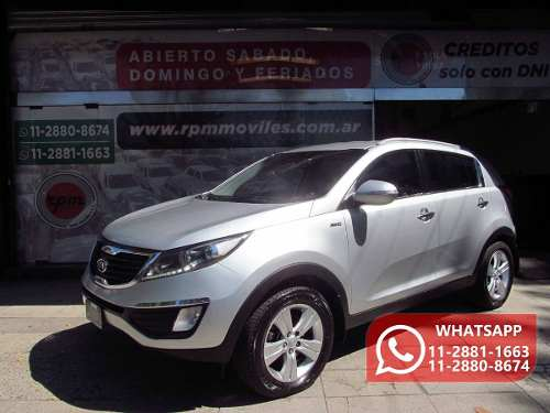 Kia Sportage 2.0 Ex 4wd 163cv Mt 2011 Rpm Moviles