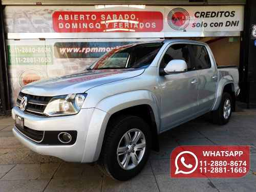 Volkswagen Amarok 2.04×2 Highline Pack  2011 Rpm Moviles