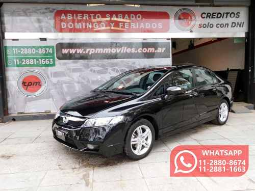 Honda Civic 1.8 Exs Mt 2011 Rpm Moviles