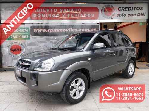 Hyundai Tucson 2.0 Crdi 4wd Mt 2009 Rpm Moviles Anticipo