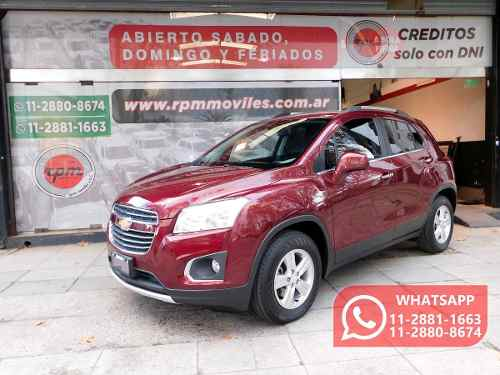 Chevrolet Tracker 1.8 Ltz 140cv 2016 Rpm Moviles