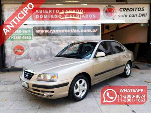 Hyundai Elantra 2.0 Gls At Premium 2007 Rpm Moviles Anticipo