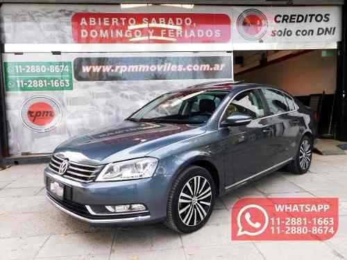 Volkswagen Passat 2.0 Luxury Tsi 211cv 2013 Rpm Moviles