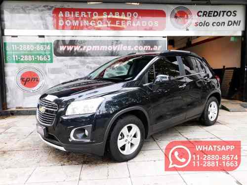 Chevrolet Tracker 1.8 Ltz Awd At 140cv 2015 Rpm Moviles