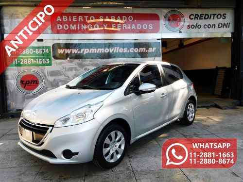 Peugeot 208 1.5 Active 2013 Rpm Moviles Anticipo