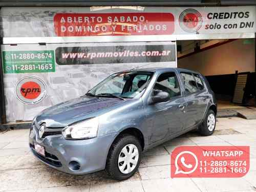 Renault Clio 1.2 Mío Expression Pack Ii Ab 2013 Rpm Moviles