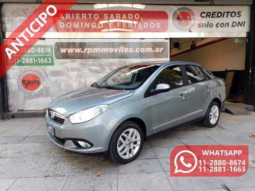 Fiat Grand Siena 1.6 Essence 2015 Rpm Moviles Anticipo