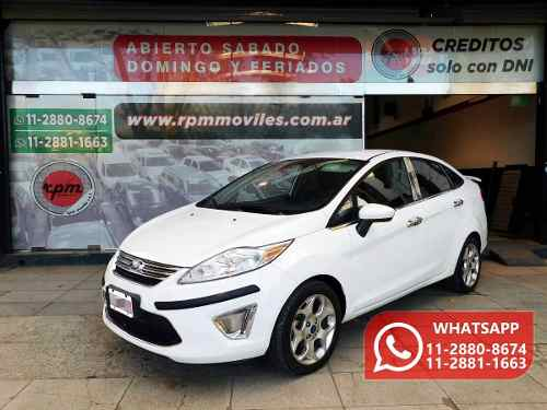 Ford Fiesta Kinetic Design 1.6 Design Trend 2011 Rpm Moviles