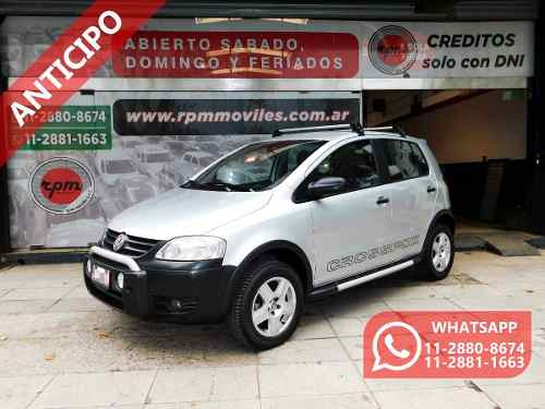 Volkswagen Crossfox Comfortline 2007 Rpm Moviles Anticipo