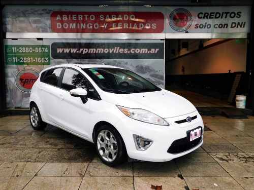 Ford Fiesta Kinetic Design 1.6  Titanium 2011 Rpm Moviles