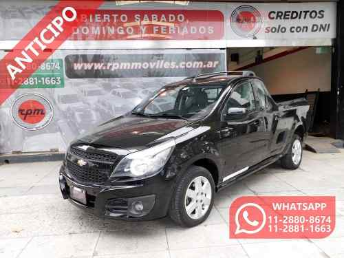 Chevrolet Montana 1.8 Sport 2012 Rpm Moviles Anticipo