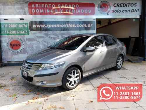 Honda City 1.5 Ex-l At 120cv Rpm Moviles 2010