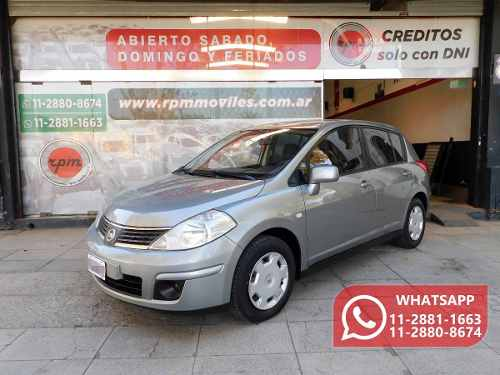 Nissan Tiida 1.8 Visia 2010 Rpm Moviles