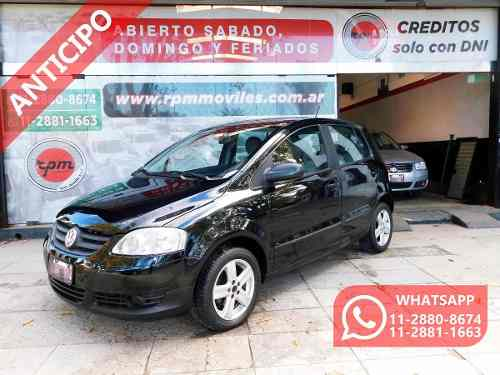 Volkswagen Fox 1.6 Comfortline 2009 Rpm Moviles Anticipo