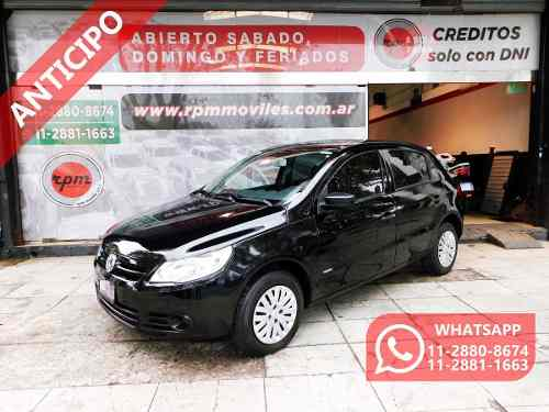 Volkswagen Gol Trend 1.6 Pack I 2011 Rpm Moviles Anticipo