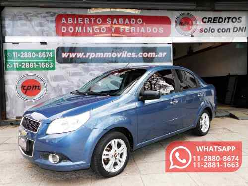 Chevrolet Aveo G3 1.6 Lt 2012 Rpm Moviles