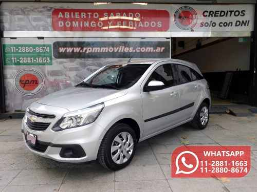 Chevrolet Agile 1.4 Lt Llantas 2014 Rpm Moviles