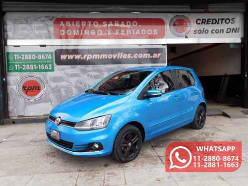 Volkswagen Fox 1.6 Highline Imotion 101hp 2015 Rpm Moviles