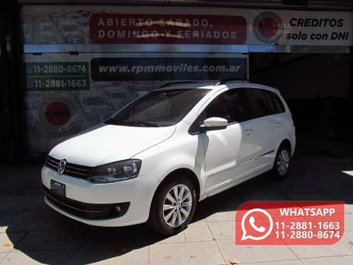 Volkswagen Suran 1.6 Imotion Highline 2012 Rpm Moviles
