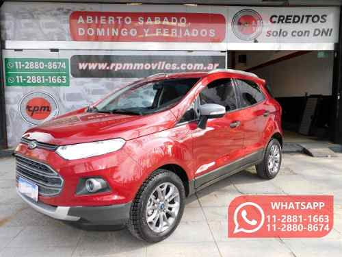 Ford Ecosport 1.6 Freestyle 110cv 4×2 2017 Rpm Moviles