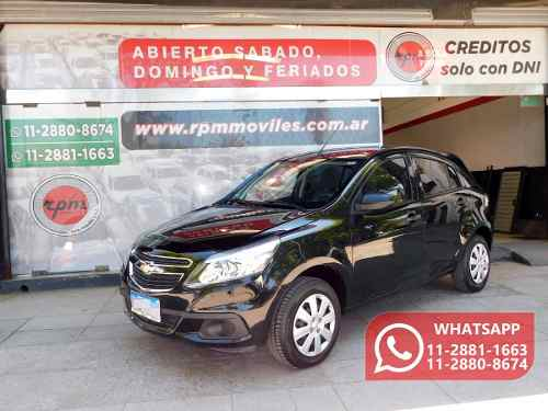 Chevrolet Agile 1.4 Ls 2017 Rpm Moviles