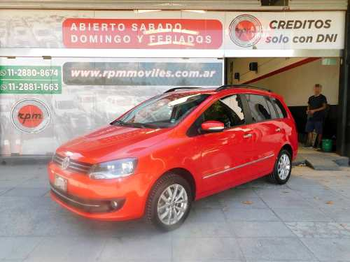 Volkswagen Suran 1.6 Highline 101cv Cuero 2014 Rpm Moviles