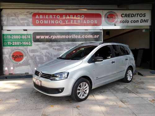 Volkswagen Suran 1.6 Highline 101cv Cuero 2013 Rpm Moviles