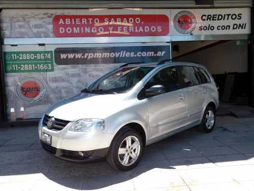 Volkswagen Suran 1.6 I Highline Cuero 2008 Rpm Moviles