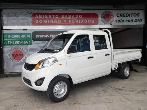Foton Cabina Doble Zanella Force 2018 Rpm Moviles