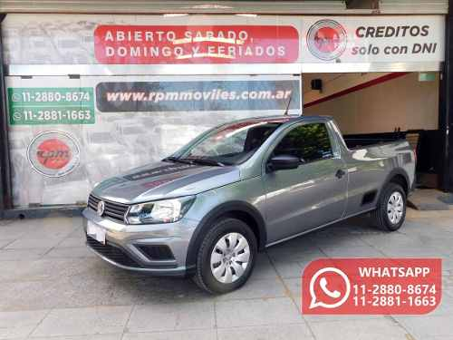 Volkswagen Saveiro 1.6 Gp Cs 101cv Safety 2017 Rpm Moviles