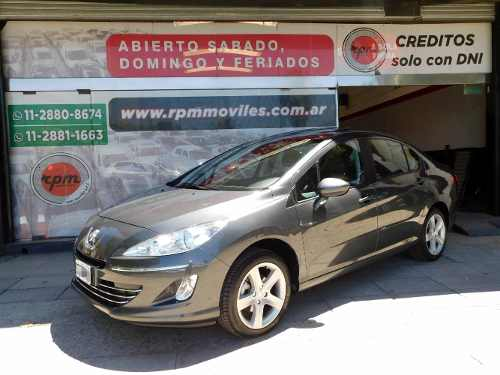 Peugeot 408 2.0 Allure Nav 143cv 2014 Rpm Moviles