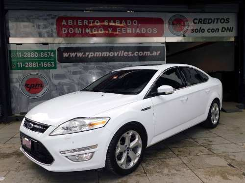 Ford Mondeo 2.0 Titanium Gi Ecoboost At 2012 Rpm Moviles