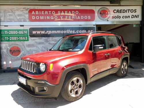 Jeep Renegade 1.8 Sport At Plus 2017 Rpm Moviles