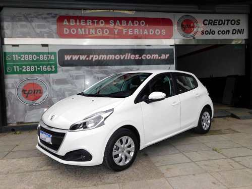 Peugeot 208 1.6 Active 2018 Rpm Moviles