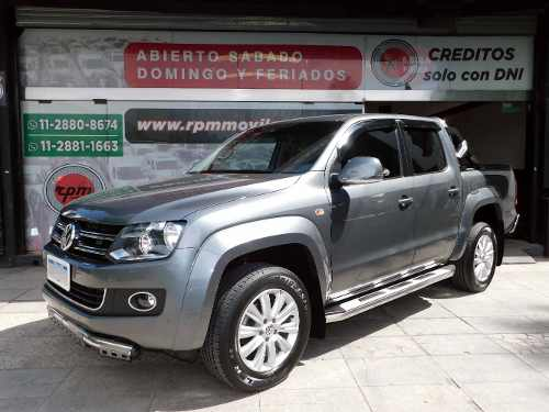 Volkswagen Amarok 2.0 Cd Tdi 180cv 4×2 Highline 16 Rpm Movil