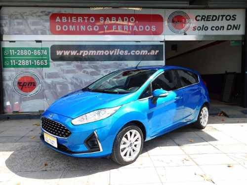 Ford Fiesta Kinetic Design 1.6 Titanium Powershift 2018 Rpm