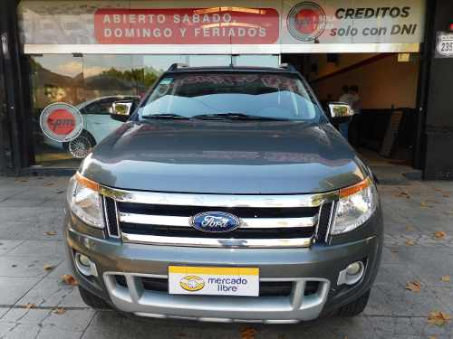 Ford Ranger 3.2 Cd 4×4 Limited Tdci 200cv At 2013 Rpm